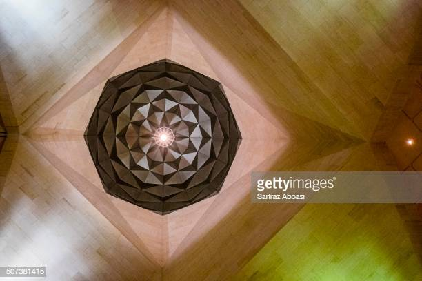 View of the Ceiling. Museum of Islamic Art.