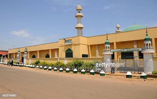 A view of the Central Mosque in Jos central Nigeria on June 4 2014 Jos the capital of Plateau state is the key city in Nigeria's Middle Belt which...