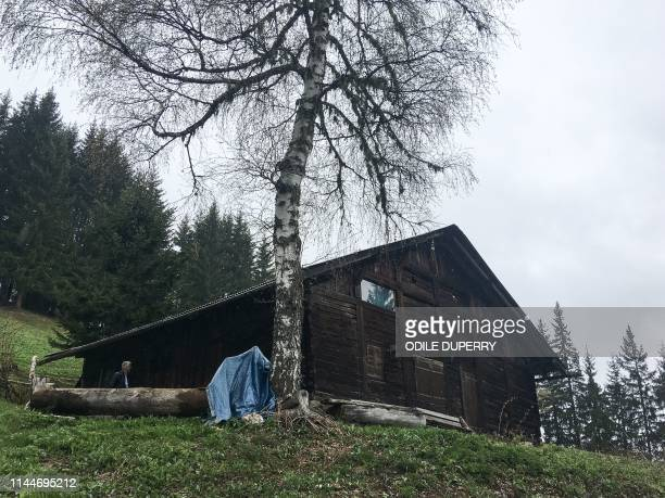 view of the chalet where Jose Antonio Urrutikoetxea Bengoetxea also known as Josu Ternera one of the most influential leaders of former Basque...