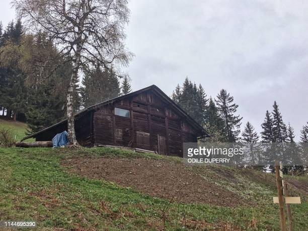 A view of the chalet where Jose Antonio Urrutikoetxea Bengoetxea also known as Josu Ternera one of the most influential leaders of former Basque...