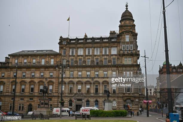 A view of the Chamber of Commerce as Glasgow's historic ties with the transatlantic slave trade and slavery have come under scrutiny recently...