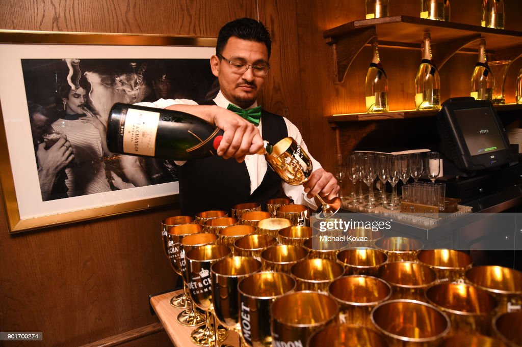 CA: Moet & Chandon Celebrates The 3rd Annual Moet Moment Film Festival and Kicks off Golden Globes Week