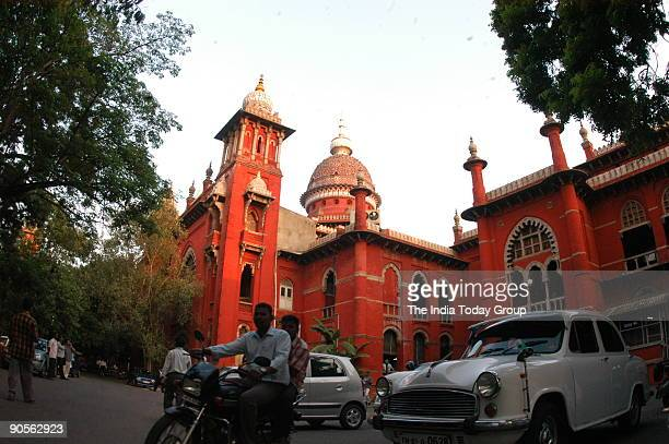 View of the Chennai High Court in Chennai Tamil Nadu India