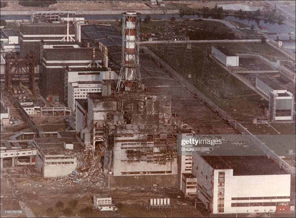 Chernobyl: first pictures after the nuclear disaster. : News Photo