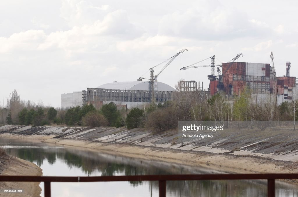 31th anniversary of Chernobyl nuclear disaster : News Photo