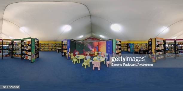 A view of the Children Bookshop during the Edinburgh International Book Festival on August 15 2017 in Edinburgh Scotland