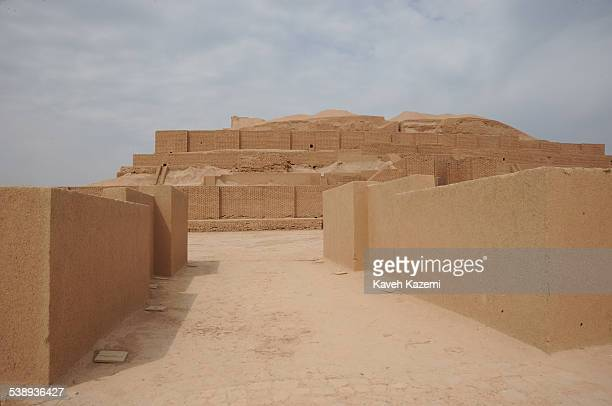 A view of the Chogha Zanbil ziggurat in Susa Iran 29th September 2011 An ancient Elamite complex in the Khuzestan province of Iran it is one of the...