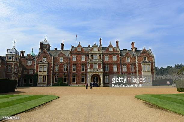 View of The Church of St Mary Magdalene on Queen Elizabeth II's Sandringham Estate on June 5, 2015 in Norfolk, England. This is where Princess...