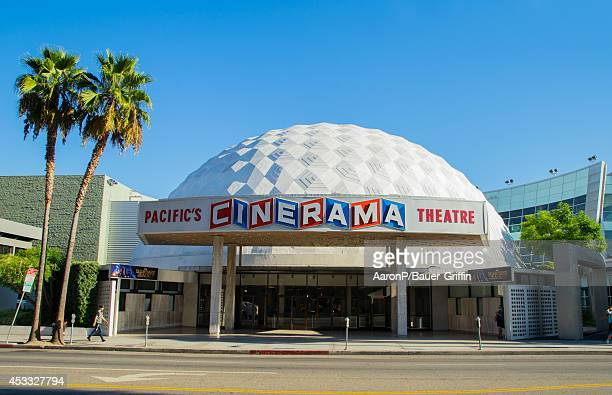 A view of the Cinerama Dome theater at ArcLight Cinemas in Hollywood on August 07 2014 in Los Angeles California