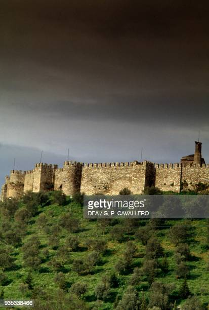 View of the citadel or Ayasuluk fortress Selcuk Turkey Byzantine civilisation 6th7th century