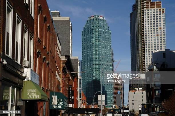 A view of the Citibank building which will house new Amazon employees starting in the first half of 2019 in the Long Island City neighborhood on...