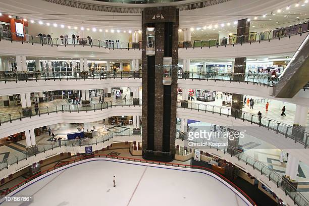View of the City Centre mall in Doha is taken on January 4 2011 in Doha Qatar The International Monetary Fund recently reiterated its projection for...