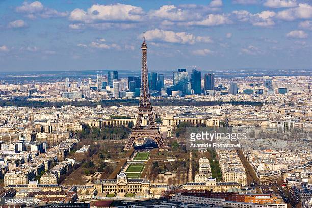 View of the City from Montparnasse Tower