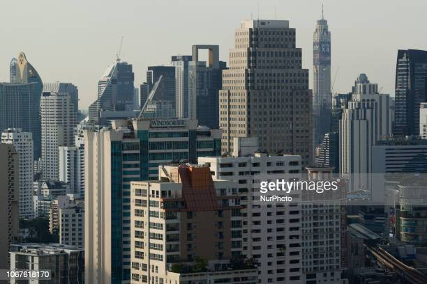 A view of the city in Bangkok Thailand 02 December 2018