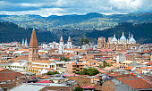 View of the city of Cuenca