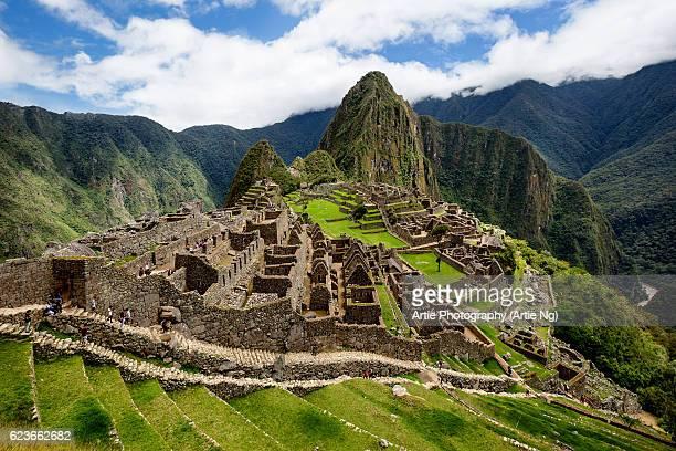 View Of The City Of Machu Picchu, Cusco Region, Urubamba Province, Peru