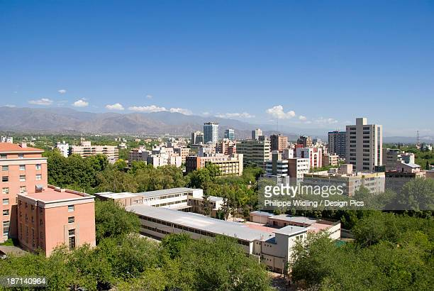 View Of The City Of Mendoza