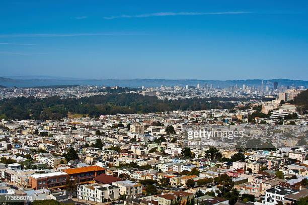View of the City of San Francisco, California