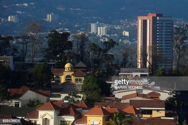 View of the city of San Salvador taken on February 15 2017 / AFP / Marvin RECINOS
