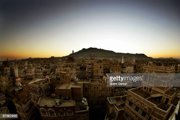 A view of the city of Sana'a on November 22 2005 in Sana'a Yemen