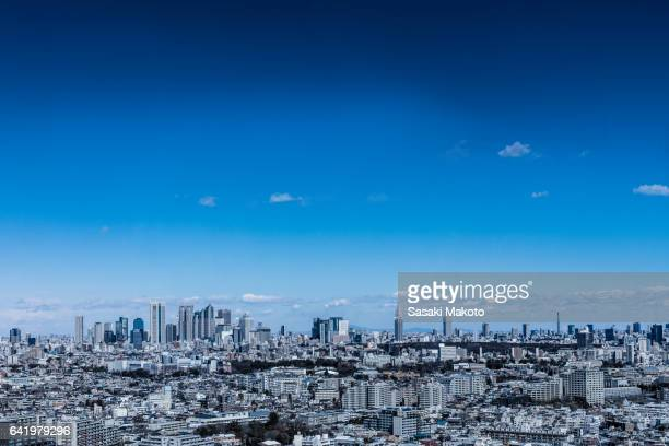 view of the city of Tokyo