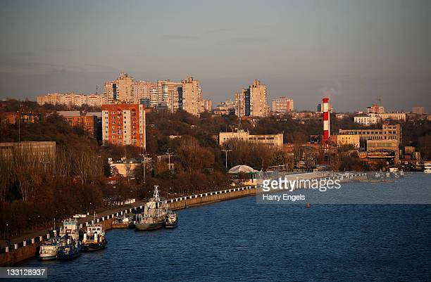 A view of the city over the river Don on November 17 2011 in RostovnaDonu Russia RostovnaDonu is one of thirteen cities proposed as a host city as...