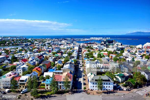 View of the city, Reykjavik, Iceland