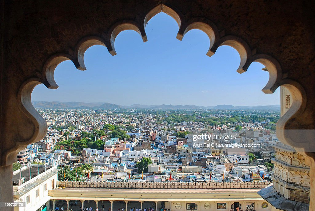 View of the City - Udaipur : Stock Photo