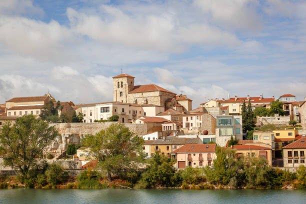 View Of The Classic Part Of The City Of Zamora, Spain