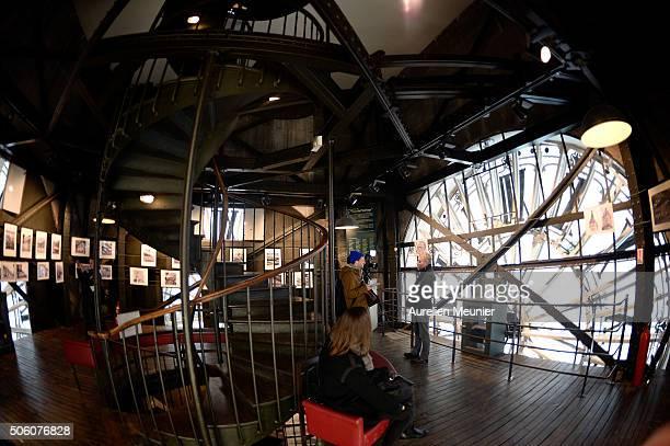 A view of the clock room of La Tour de l' Horloge' during the press visit on January 21 2016 in Paris France The visit is part of the Paris hidden...