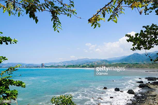View of the coastal town Jaco, Costa Rica