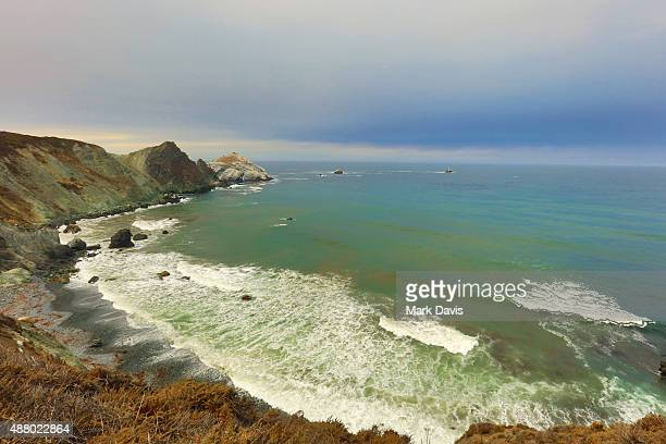 A view of the coastline at the Walk Run and Ride during Best Buddies Hearst Castle Challenge on September 12 2015 in Carmel California