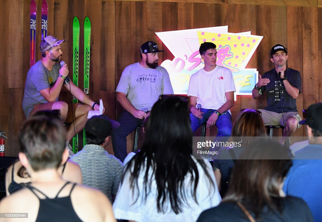 A view of the Conservation Conversations panel in the 80s Ski Lodge during day 1 of Grandoozy on September 14, 2018 in Denver, Colorado.
