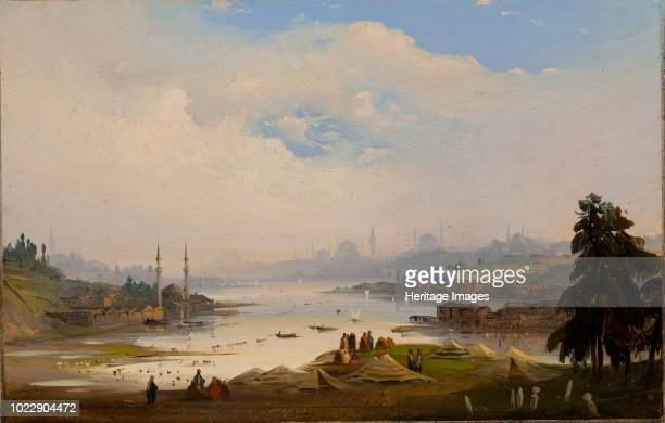 View of the Constantinople 1843 Found in the Collection of Ca' Pesaro Galleria Internazionale d'Arte Moderna Venice