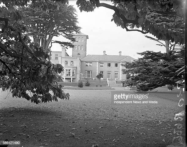 View of the Convent of the Sacred Heart Mount Anville Dublin Ireland October 9 1953