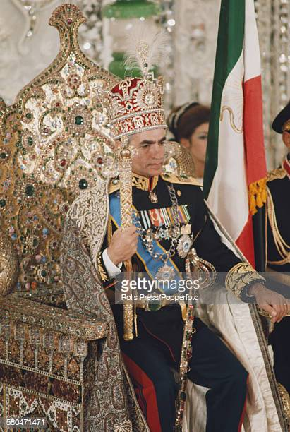 View of the coronation ceremony of Mohammad Reza Pahlavi as Shah of Iran in Tehran Iran on 26th October 1967