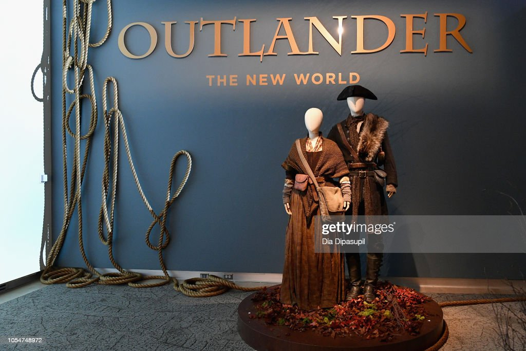 21st SCAD Savannah Film Festival - Red Carpet, Premiere Screening & Costume Exhibition For 'Outlander' Season Four : News Photo