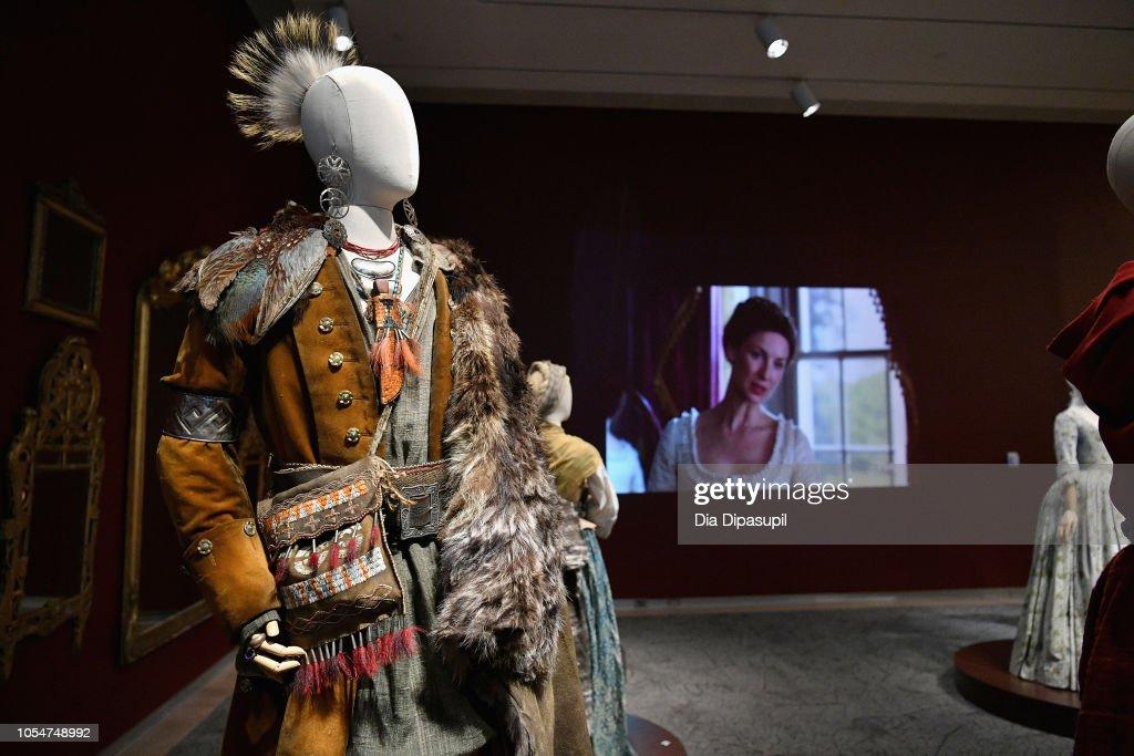 21st SCAD Savannah Film Festival - Red Carpet, Premiere Screening & Costume Exhibition For 'Outlander' Season Four : News Photo