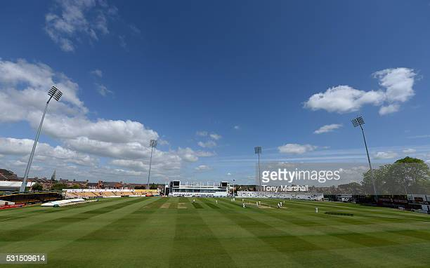 A view of The County Ground during day one of the Specsavers County Championship Division Two match between Northamptonshire and Kent at the County...
