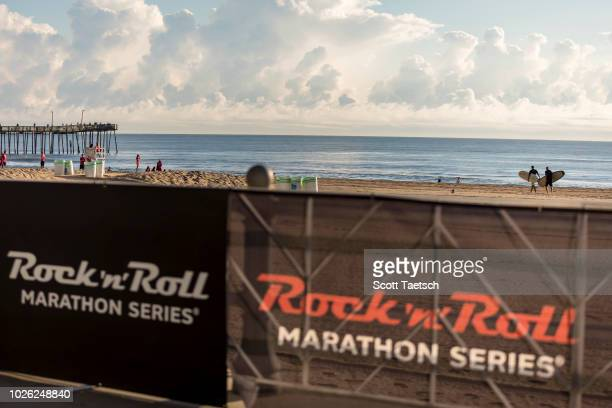 A View Of The Course During 2018 Humana Rock N Roll Virginia Beach