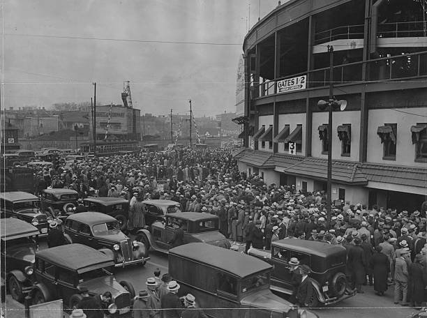 Crowd At Wrigley During World Series