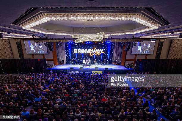 View of the crowd during BroadwayCon 2016 at the New York Hilton Midtown on January 24 2016 in New York City