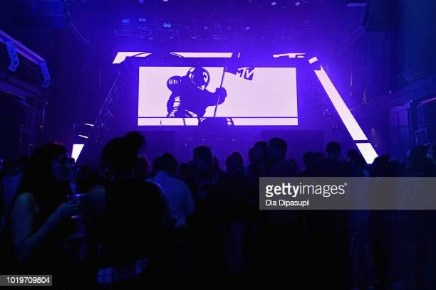 A view of the crowd during the MTV VMA Kickoff Concert presented by DirecTV Now at Terminal 5 on August 19 2018 in New York City