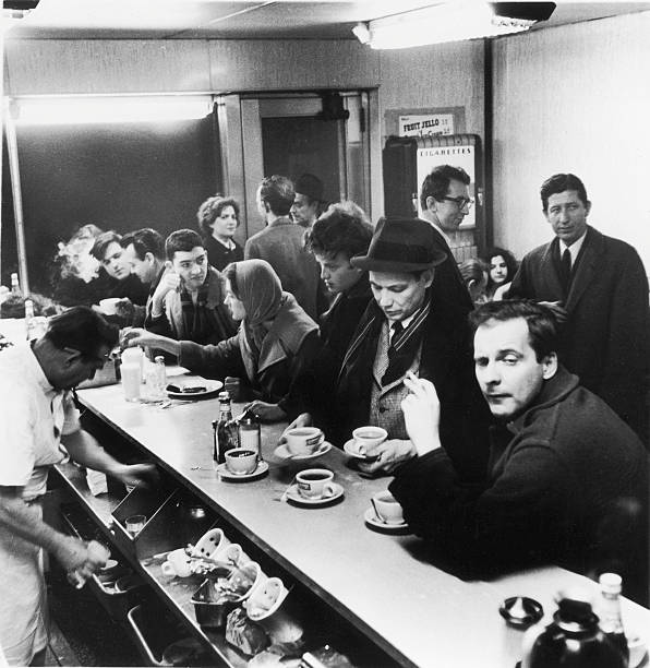 Late Night, Rikers Cafe, 1960 Wall Art