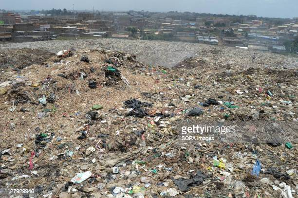 View of the Dandora dump site located in the outskirts of Nairobi Nairobi generates an average of 3000 tons of solid waste every day from industries...