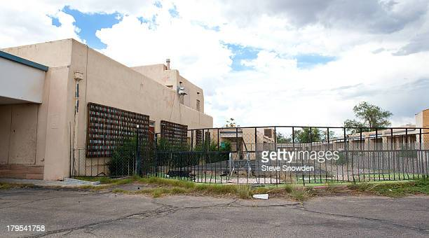A view of The De Anza Motor Lodge on September 01 2013 in Albuquerque New Mexico This was the location of Walter Whites million dollar drug deal in...