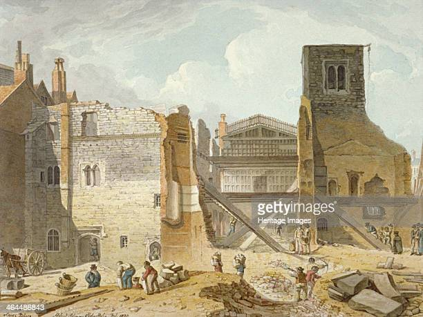 View of the demolition of the Savoy Palace Westminster London 1820 The Savoy Palace was built in the 13th century In the 14th century it was the...