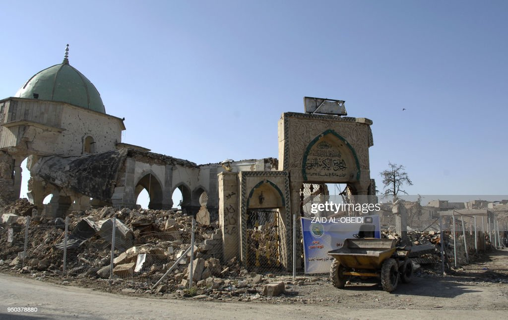 IRAQ-HERITAGE-CONFLICT-IS-UAE-RECONSTRUCTION : News Photo
