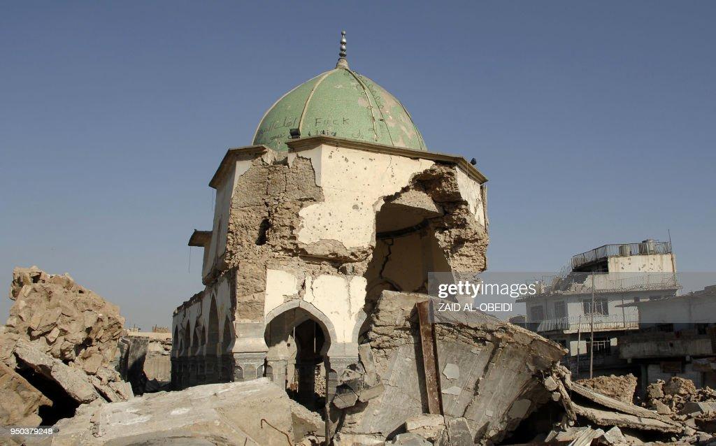IRAQ-HERITAGE-CONFLICT-IS-UAE-RECONSTRUCTION : News Photo