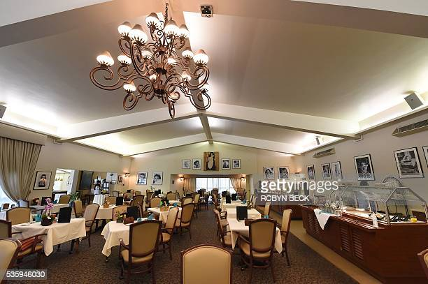 A view of the dining room at the Motion Picture Television Fund Country House a retirement community for members of the entertainment industry May 16...